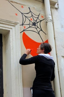 Une histoire d'araignée rue Androuet