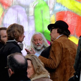 Artistes en grande discussion. Seth, Lomo Zano et Jef Aérosol