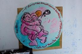 Dans l'atelier de Paella Chimicos aux Frigos