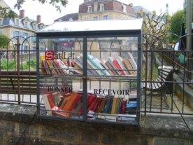 Boite à livres à Sarlat (Dordogne)