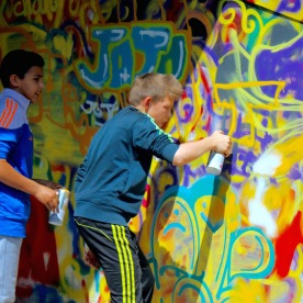 Graffeurs en devenir