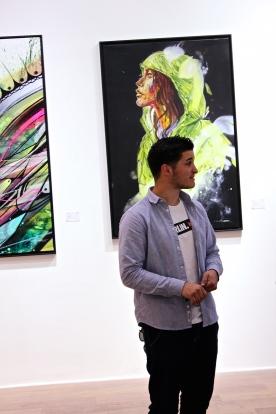 L'artiste en chair et en os