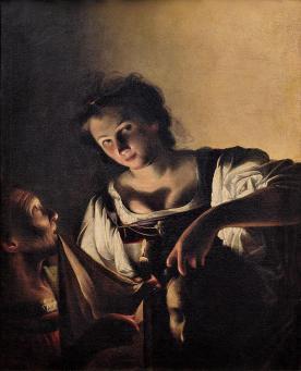 Judith avec la tete d'Holopherne - Saraceni