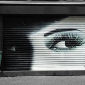 Montreuil store métallique boutique Intuitive déco 2013