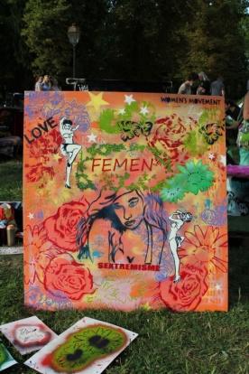 Soutien aux Femen