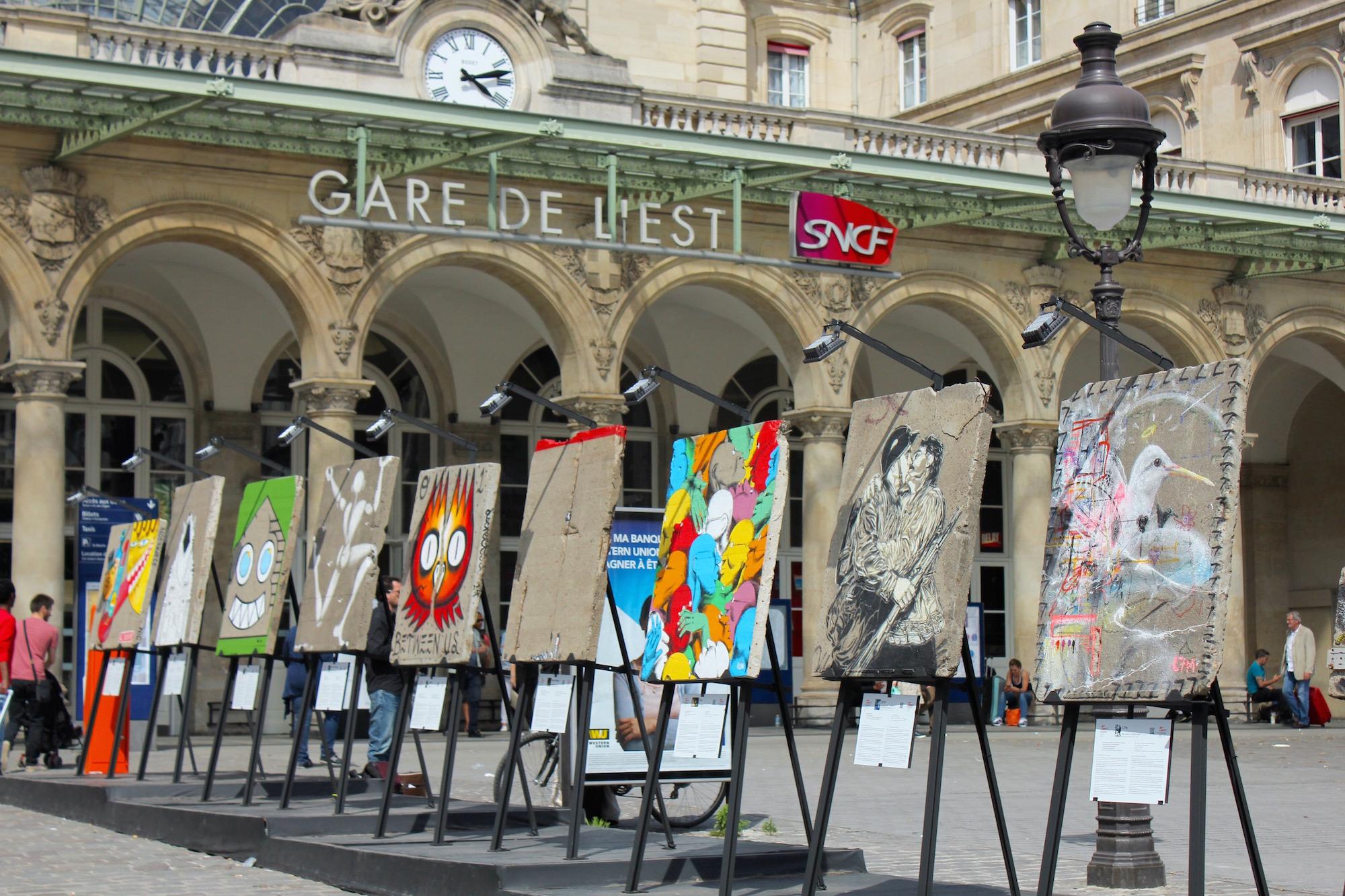 Souvent Art Liberté : du Mur de Berlin au streetart | Les billets de Miss  MN66