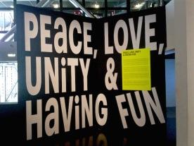 Peace, Love, Unity & having Fun