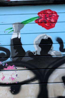 L'homme au bouquet