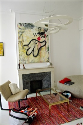 Salon (Tableau d'Olivier Devignaud)