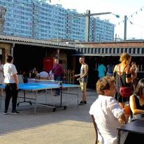 Et hop une petite partie de ping pong
