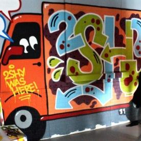 L'art urbain avec 2SHY