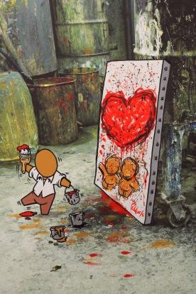 Jace vu par Pollock peint par Jace