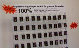 Le pochon origamique au prix du gramme de cocaïne