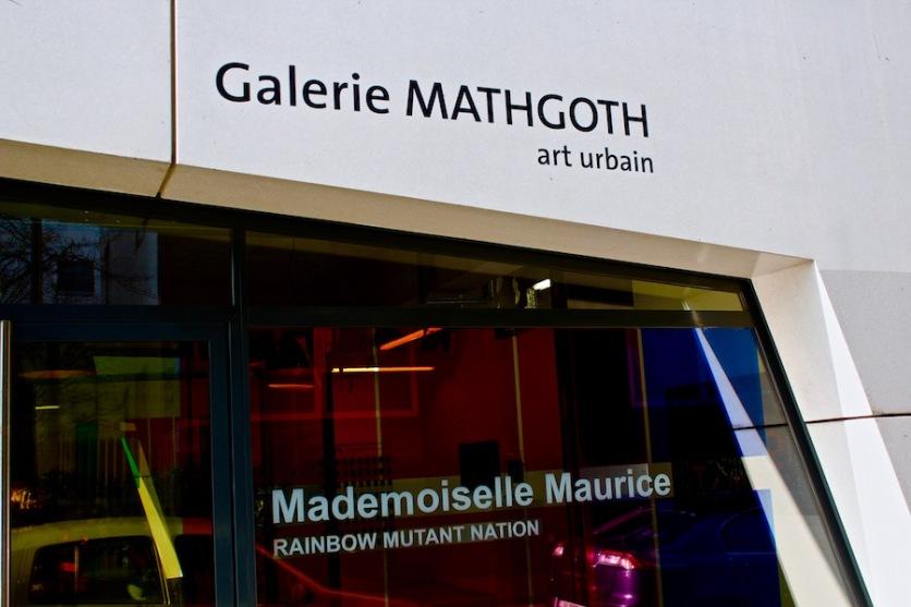 Mademoiselle Maurice à la galerie Mathgoth