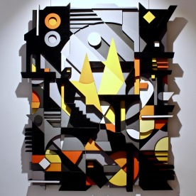 OPERA, sculpture en bois