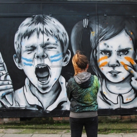 Paint War Revised - Londres