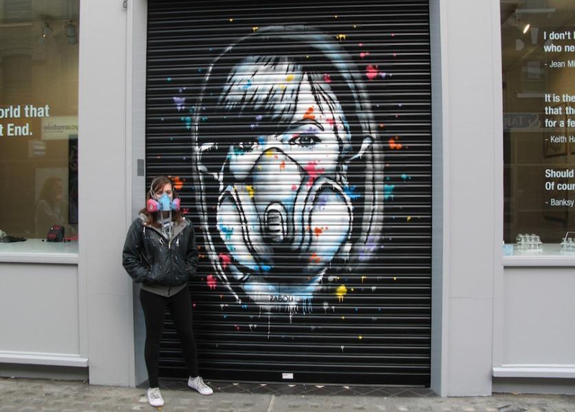 Auto-portrait - Londres