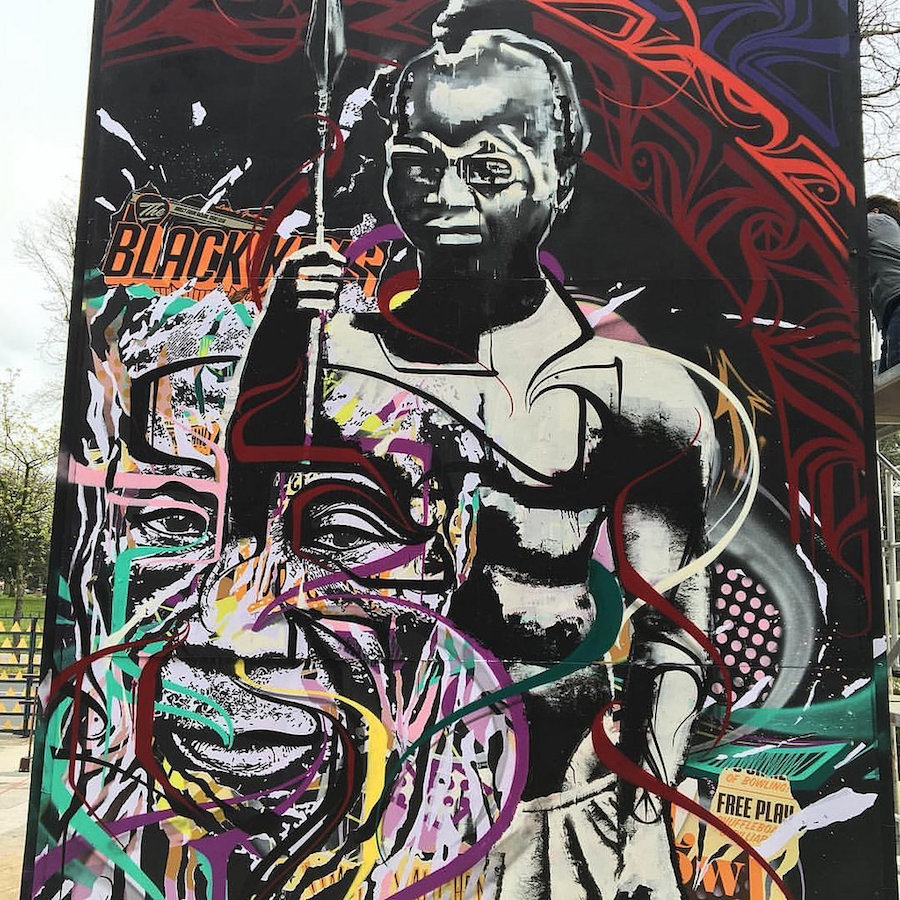 Des artistes contre le racisme avec Jo Di Bona