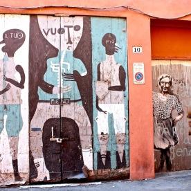 Dans l'ancien ghetto juif