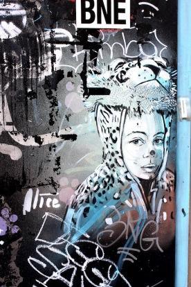 Dans l'ancien ghetto juif (Alice Pasquini)