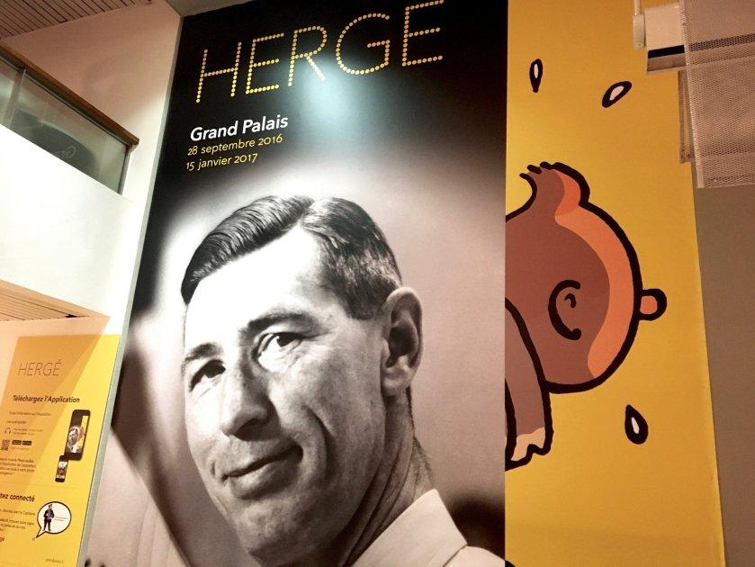 Couv Hergé Grand Palais