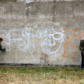 Graffiti en cours