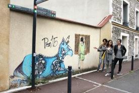 Nos 3 charmantes guides : Lynda, Houria et Iphigénie