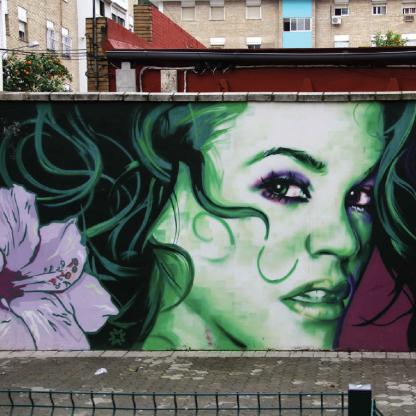 Erotik Street Art