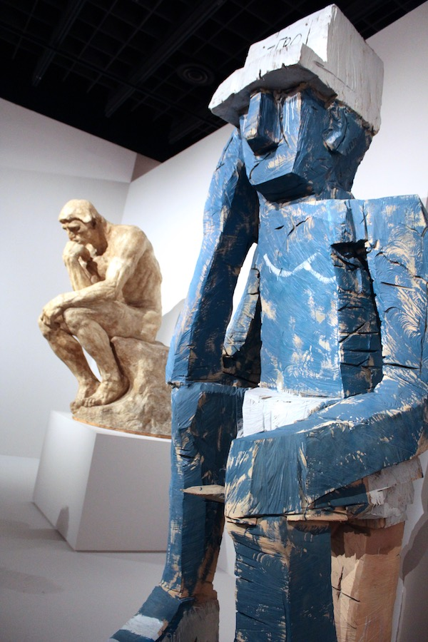 Auguste Rodin & Georg Baselitz