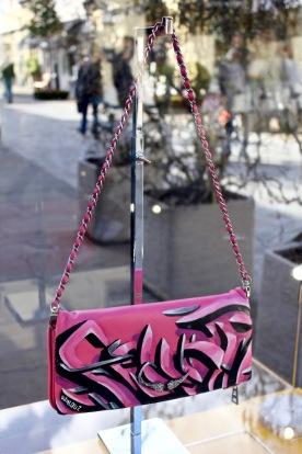Djalouz customise un sac Zadig & Voltaire