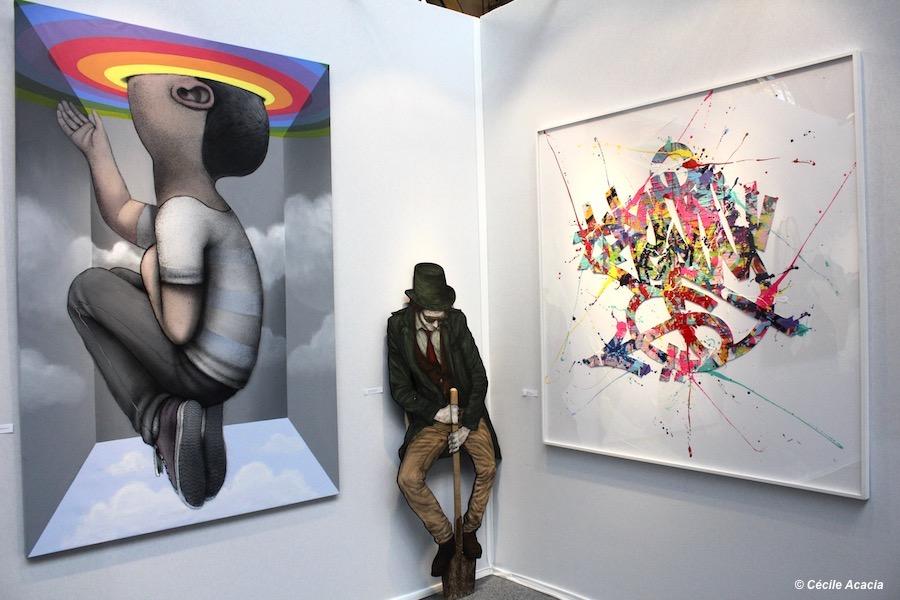 Galerie Géraldine Zberro : Seth, Levalet, Zenoy