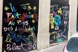 Street art Lyon JLB