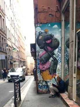 Street art Lyon BRUSK