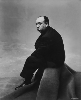 Alfred Hitchcock ©Irving Penn
