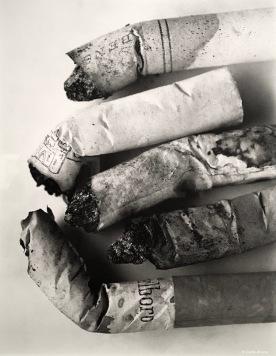 Série Les cigarettes © Irving Penn