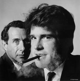 Arthur Penn & Warren Beatty © Irving Penn