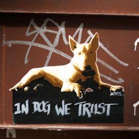 Spray Yarps - Street Art Dogs