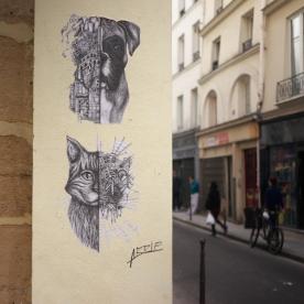 ARDIF - Street Art Dogs