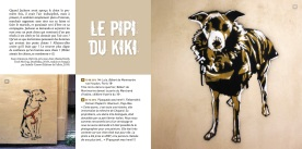 Extrait pipi du kiki Street art dogs