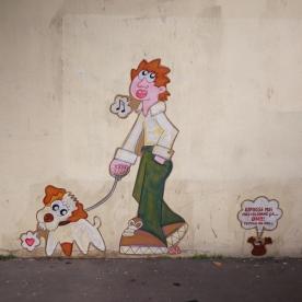 David Manuel Garcia - Street Art Dogs