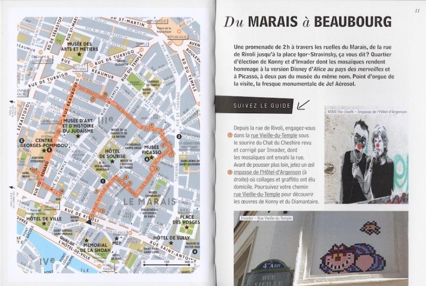 Guide street art Paris V2
