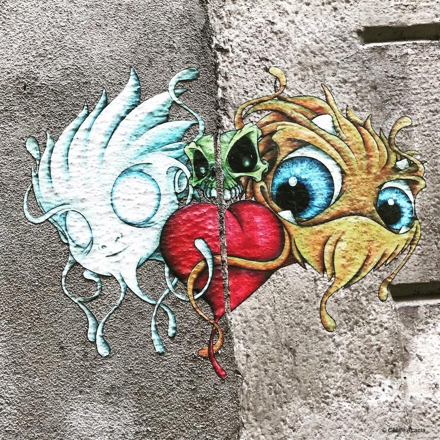 Street art Lyon Cap Phi