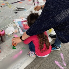 Fresque des enfants Lyon