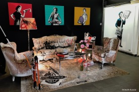 salon bourgeois (installation) by Goin