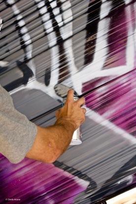 RDV graffiti XRousse COKG