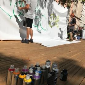 RDV graffiti