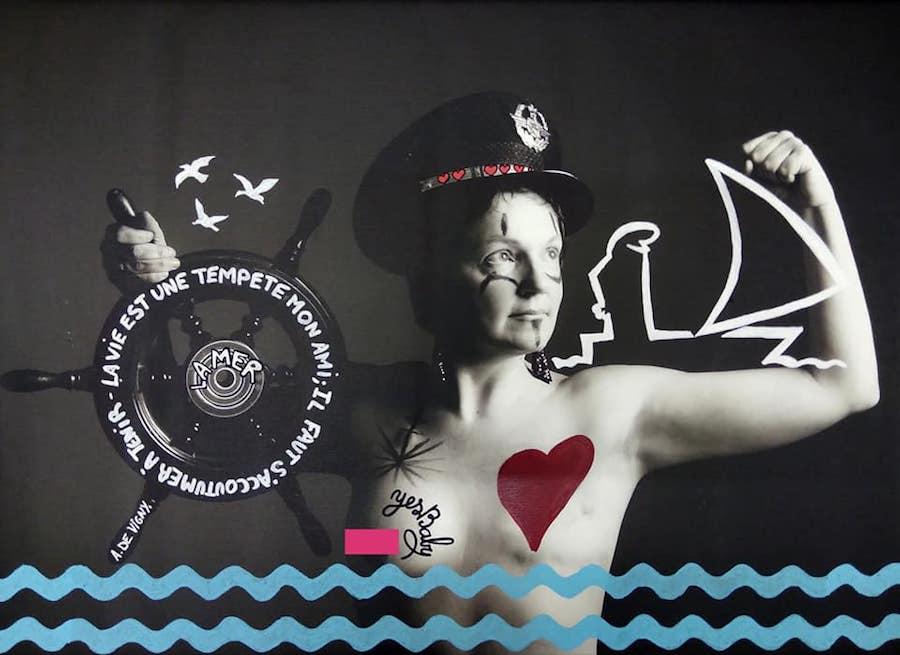 Projet Venus 2018 - Customisation de Adelsa Bugey sur une photo de Manon-Dina Duclos