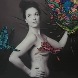 Projet Venus 2018 - Customisation de Bur-Artist sur une photo de Emmanuelle Trompille Photographe