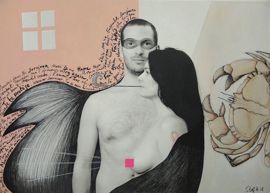 Projet Venus 2018 - Customisation de Stephanie Herrbach sur une photo de Etienne Ruggeri