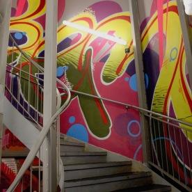 Graffiti à la Maison Nô